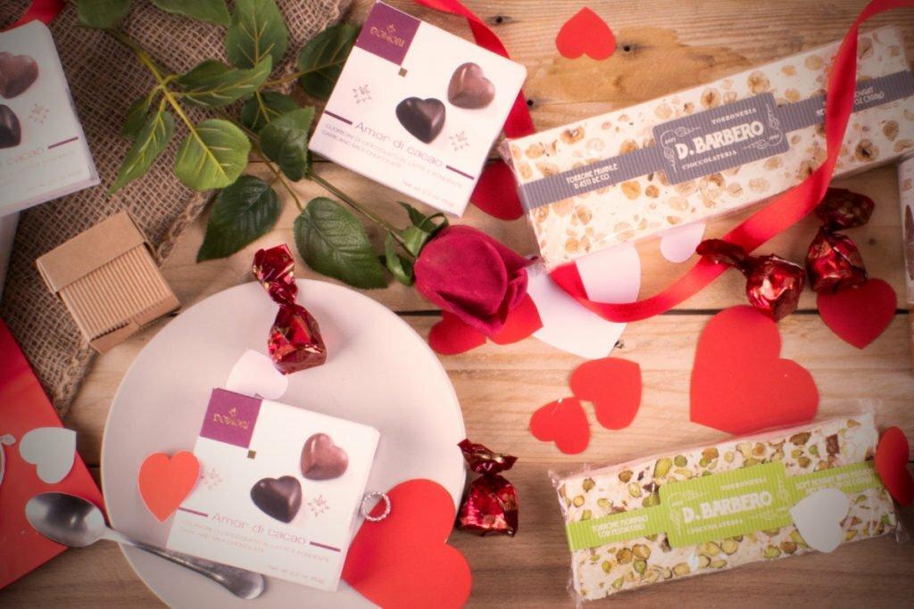 Idee regalo gourmet per San Valentino da comprare online su Shopiemonte