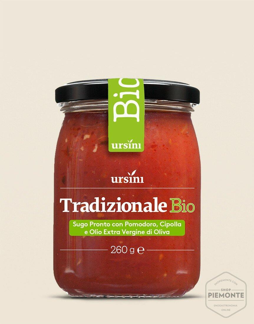 Sugo tradizionale BIO Vasetto 260 g