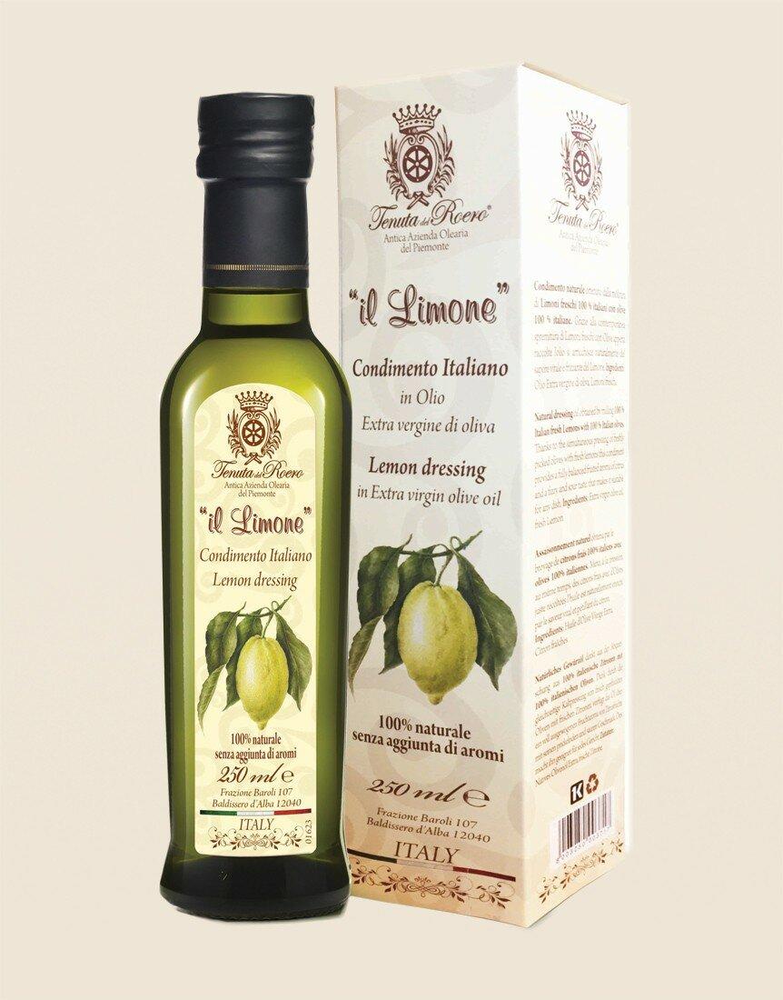 Natural flavored organic Lemon oil