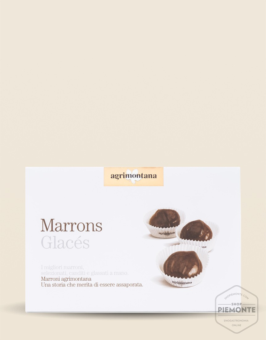 Agrimontana Medium Marrons Glaces in cups 280gr