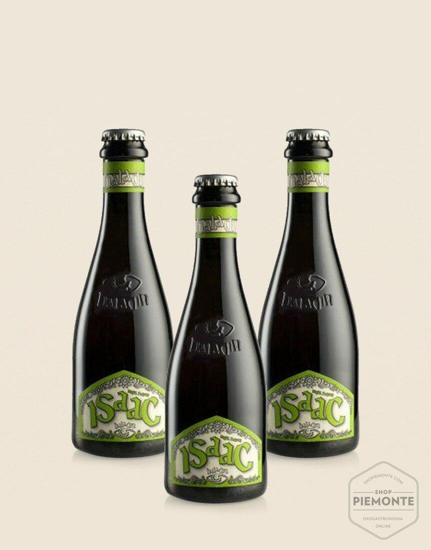 3 x Isaac 33cl - Birra Baladin bianca