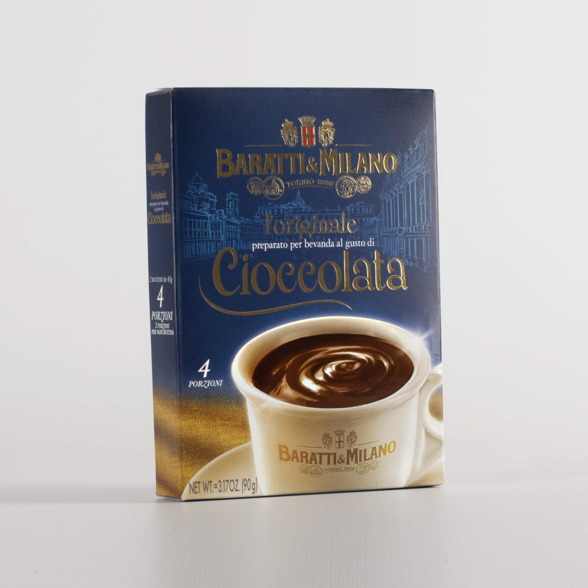 Originale Cioccolata Baratti & Milano 90g