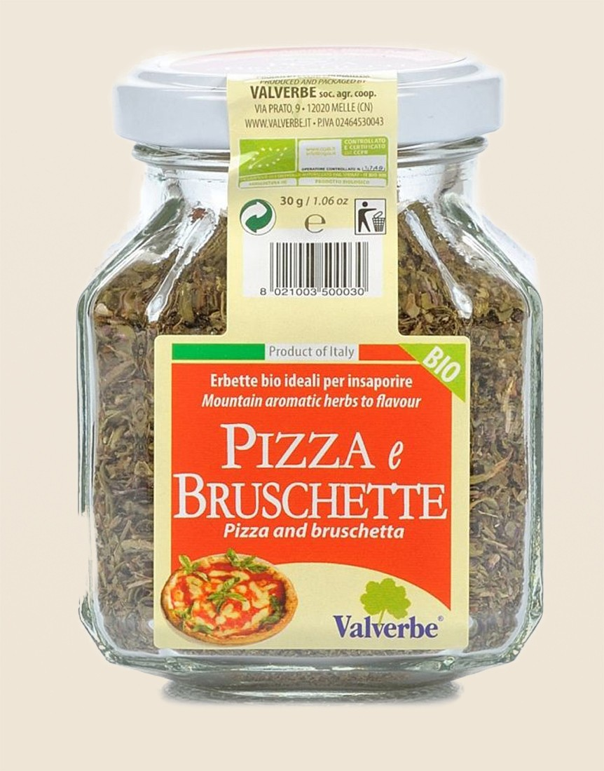 Condiment for Organic Pizzas and Bruschette
