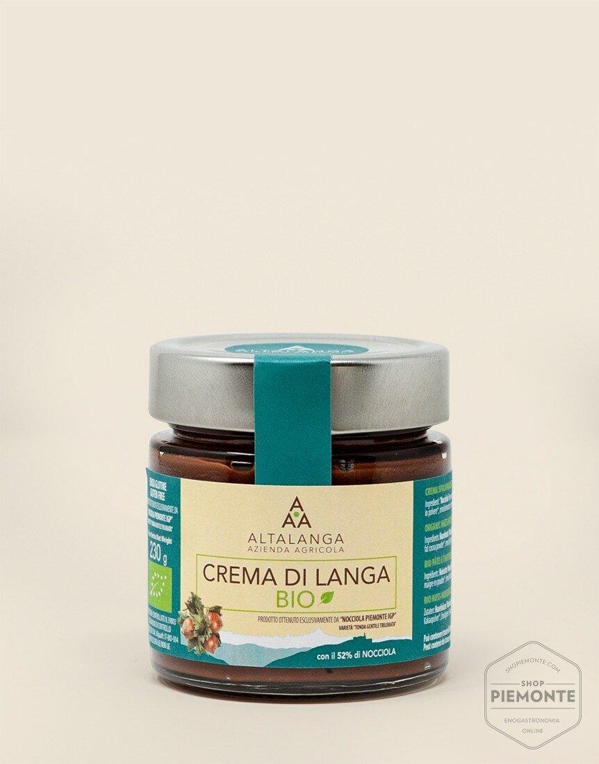 Crema di Langa Bio con zucchero