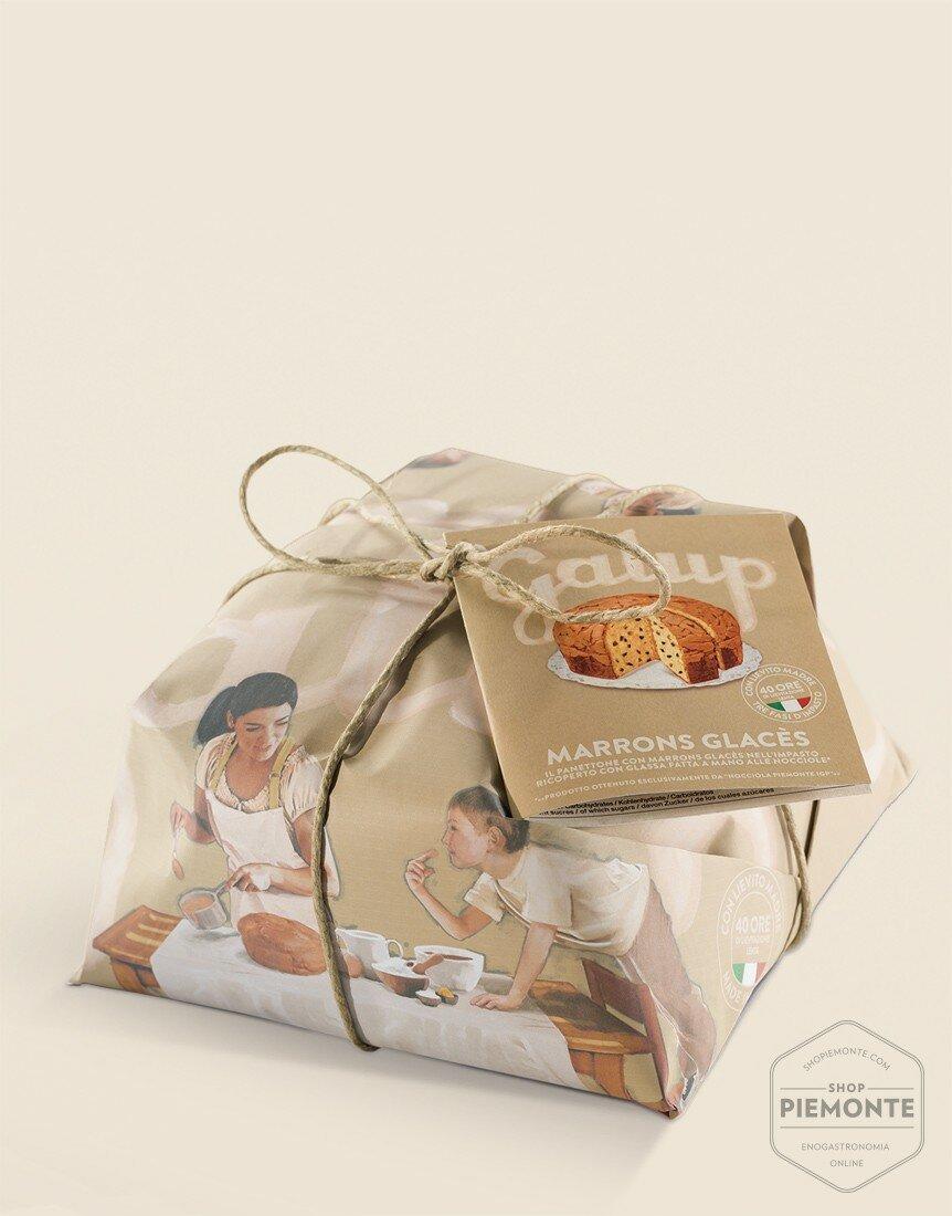 Panettone Marrons Glacès