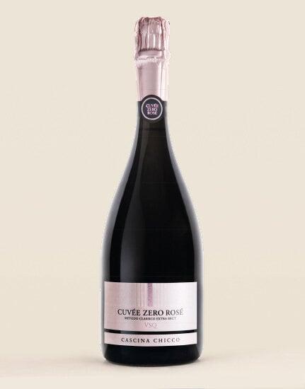 Spumante Metodo Classico Extra Brut Cuvée Zero Rosé