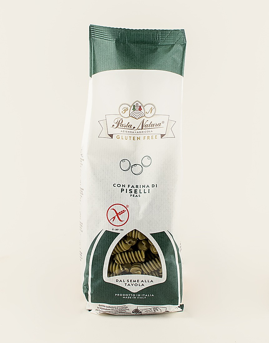 100% Gluten Free Pea Flour Fusilli