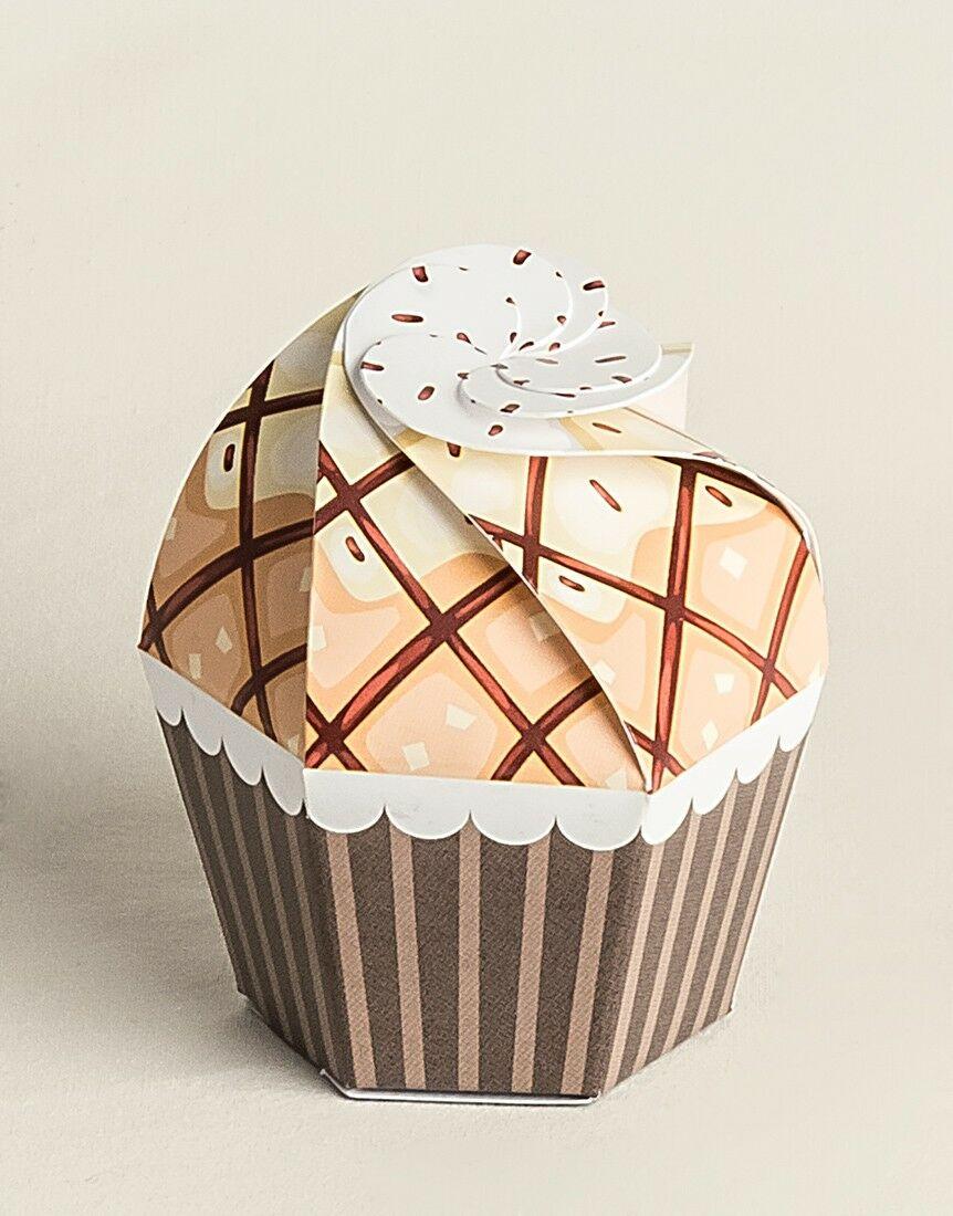 Cupcake Cioccolato e Vaniglia 20 pz