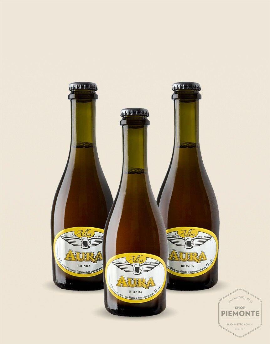 3 x Aura Golden Ale 33 cl