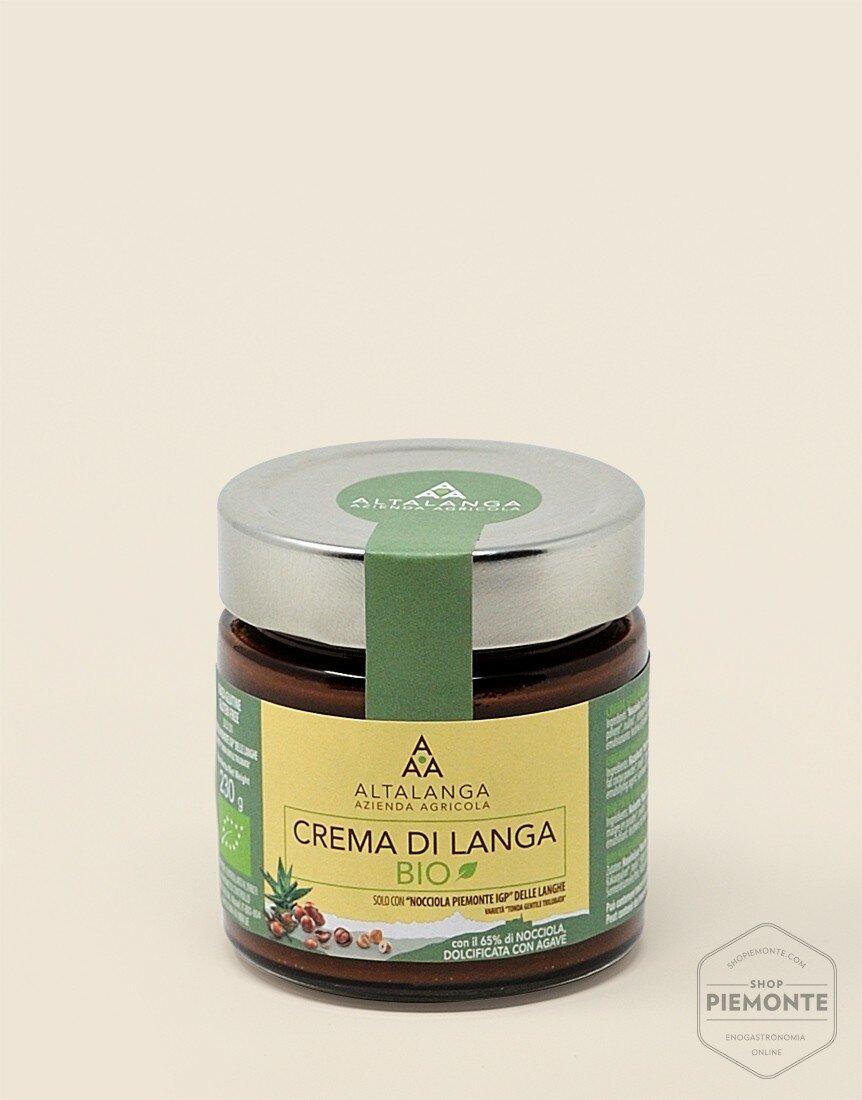Organic Langa Cream with agave