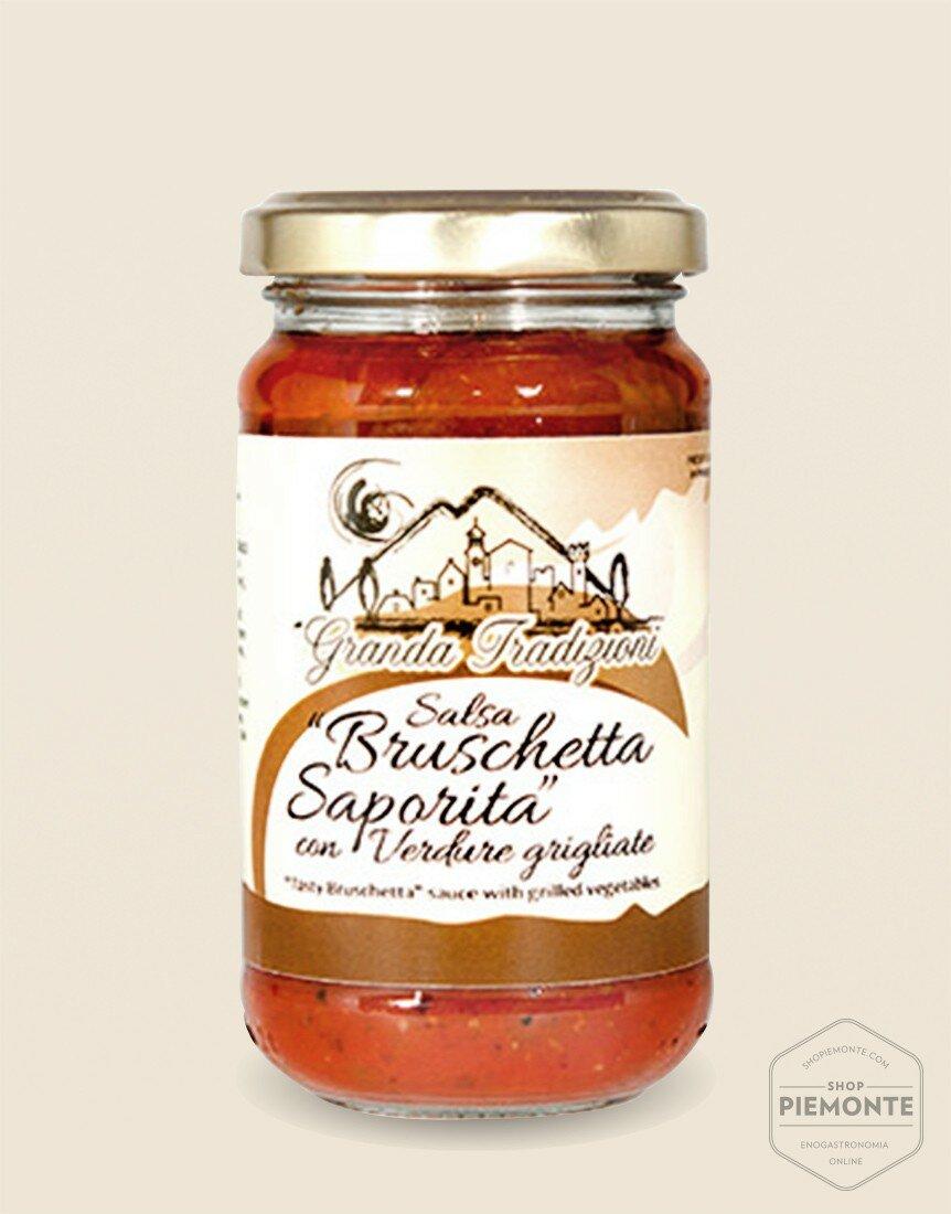 Salsa Bruschetta Saporita con Verdure Grigliate 180g