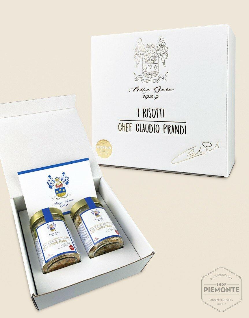 Chef Claudio Prandi Risotto Gift Box