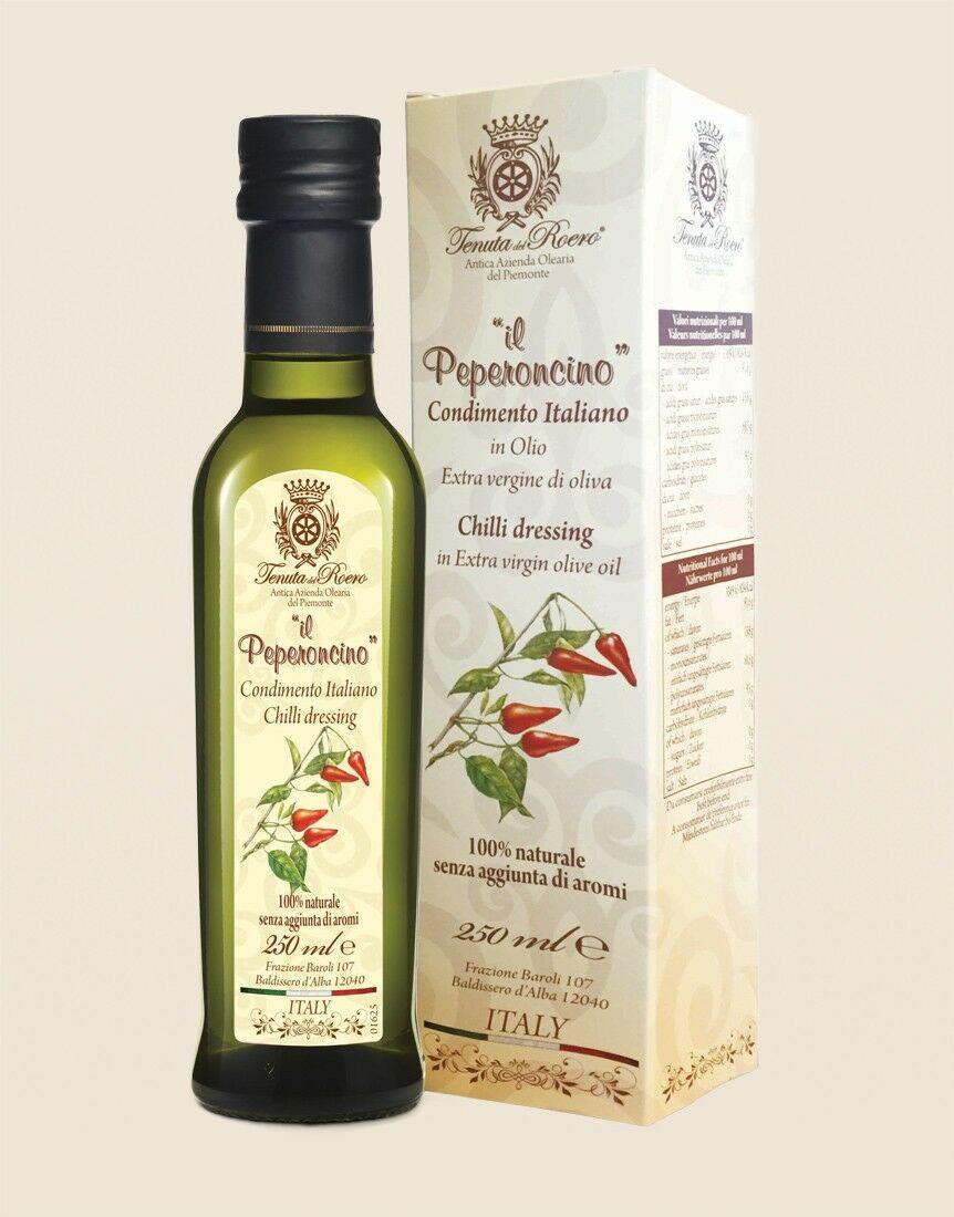 Olio aromatizzato naturale Peperoncino
