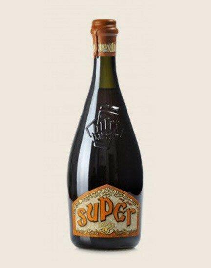Super - amber beer 75cl