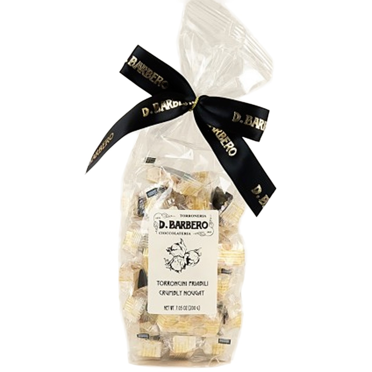 Nougat crumbly with Piedmont hazelnuts IGP