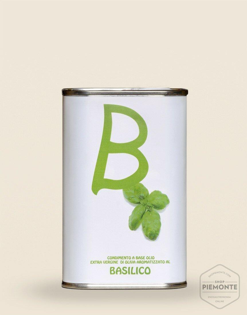 Olio aromatizzato al Basilico 100 ml