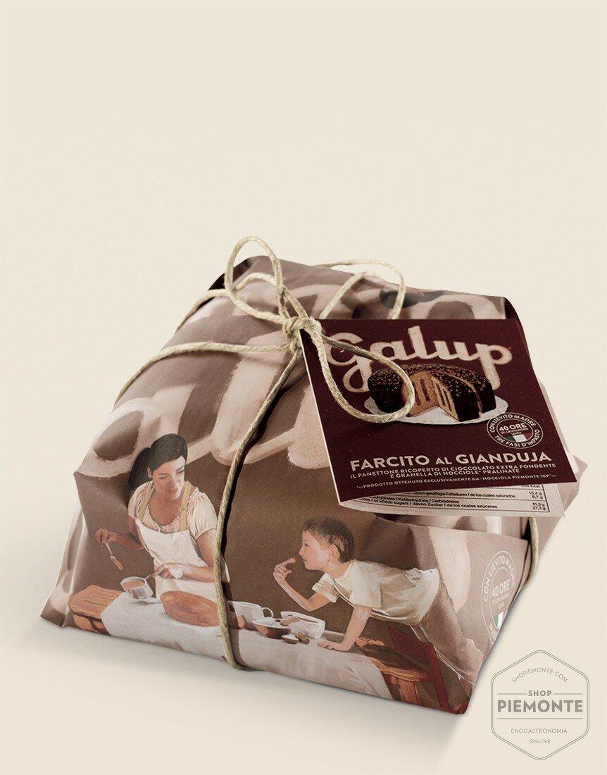 Panettone Farcito Gianduja