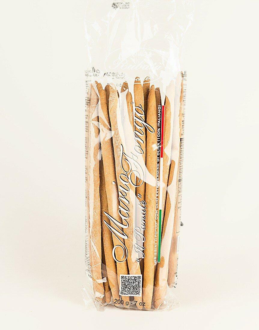 Classic Piedmontese Rubatà (Curved Breadsticks)
