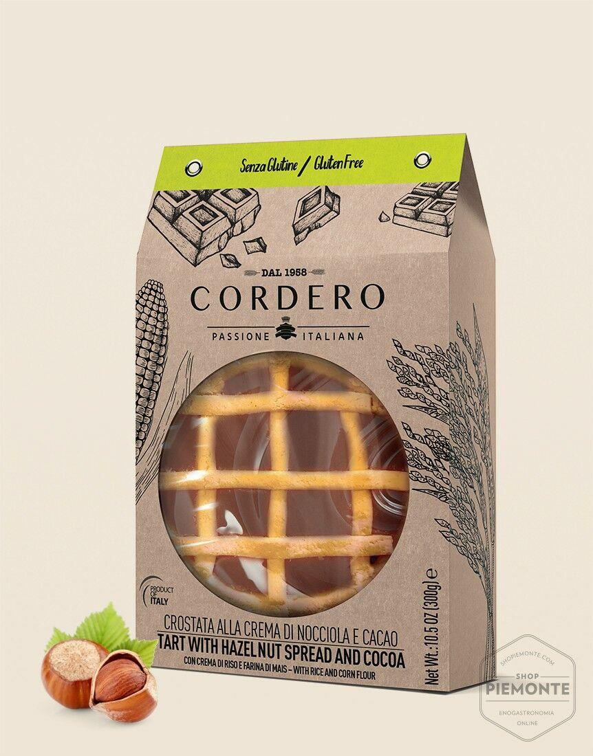 Crostata Crema Nocciole e Cacao 300g