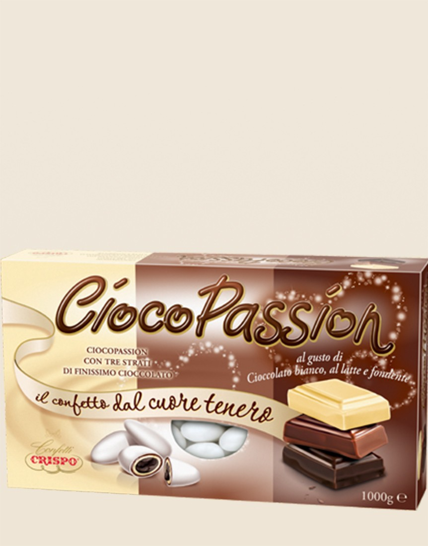CiocoPassion Triple Chocolate Dragées
