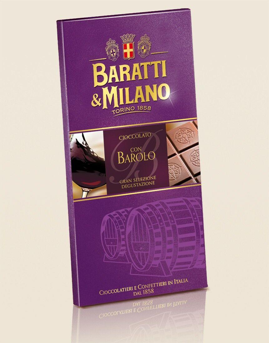 Barolo Wine Chocolate Bar
