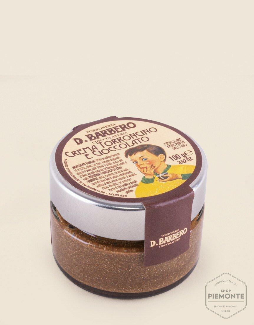 Crema Torroncino al cioccolato gr. 100