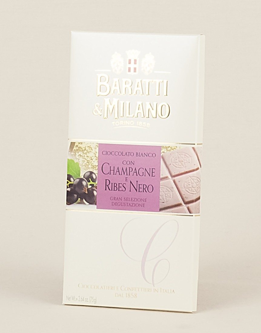 White Chocolate Champagne and Currant Bar