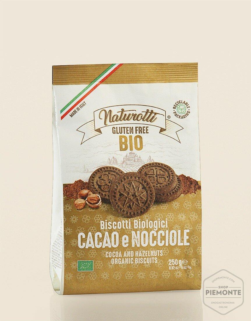 Biscotti al Cacao e Nocciole Bio & Gluten Free