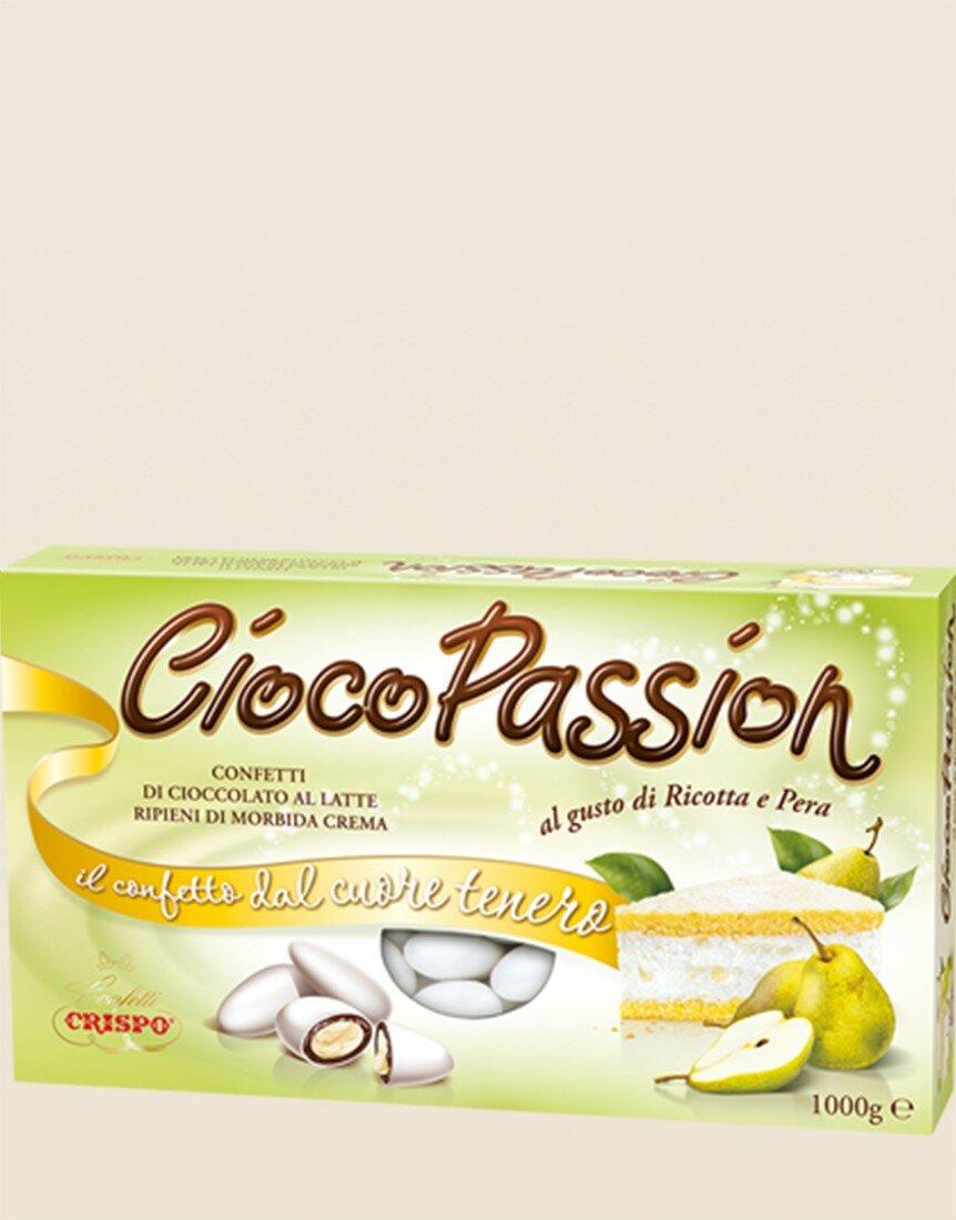 CiocoPassion Ricotta & Pear Dragées