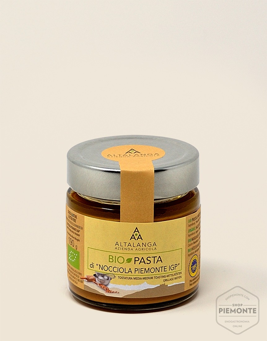 Organic Hazelnut Cream 190g jar
