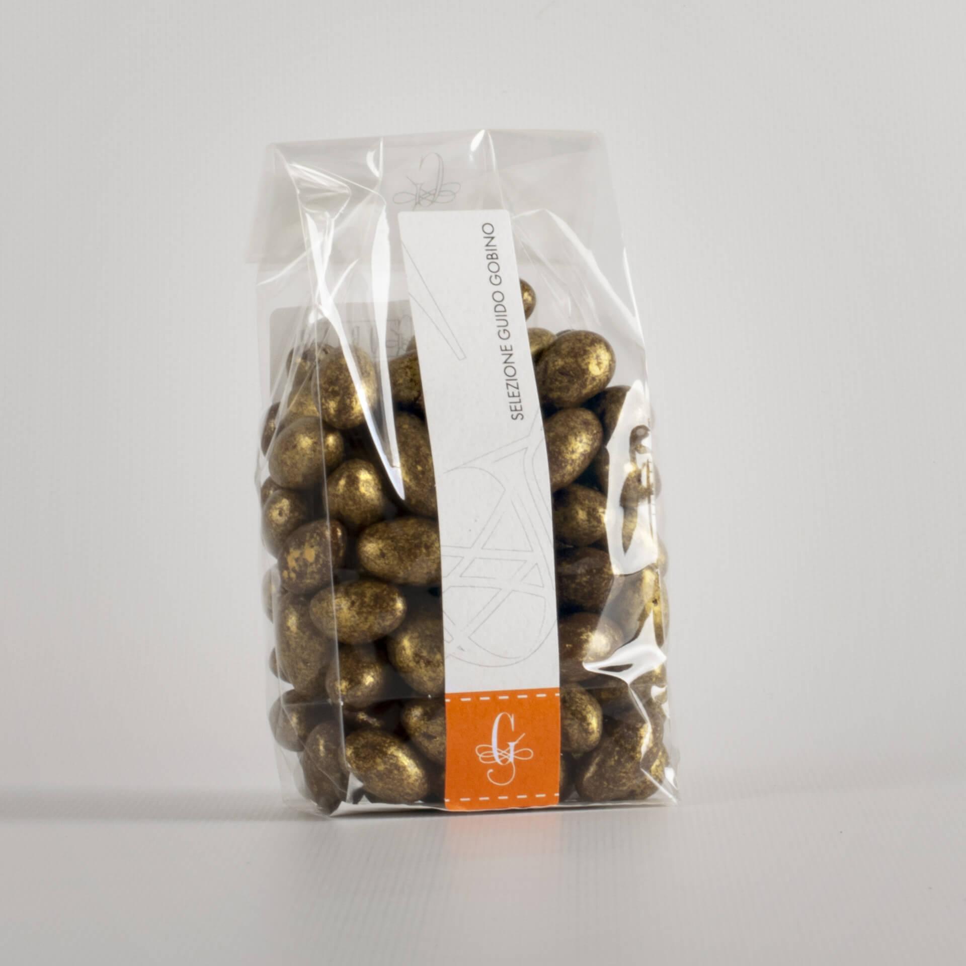 Dragees pistacchio dorato