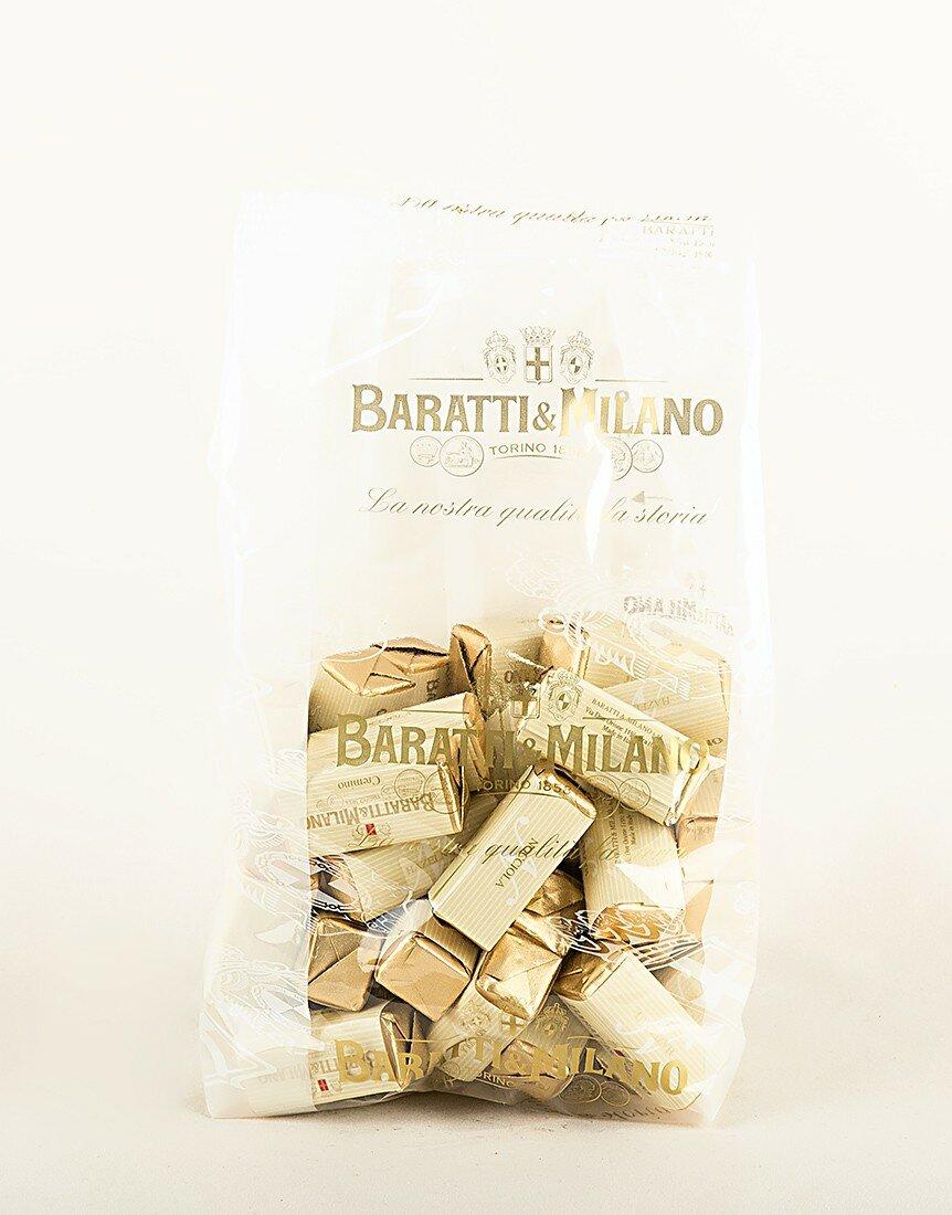 Rectangular Hazelnut Chocolate Creams in a 500g bag