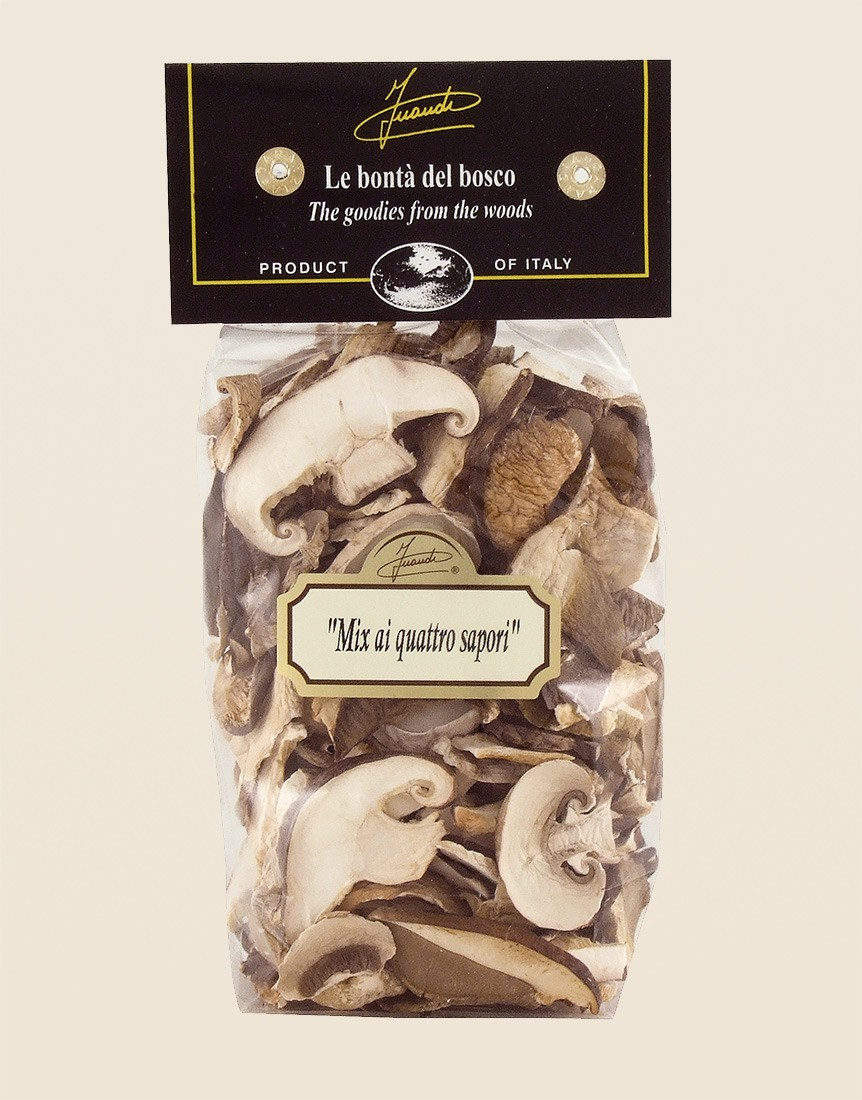Four Flavoured Dried Mushrooms