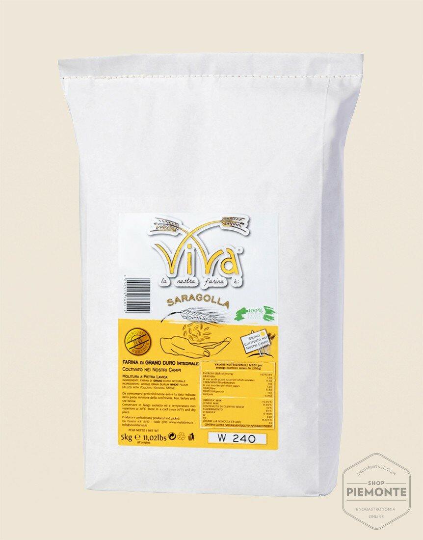 Farina di Grano Duro Saragolla 5 kg