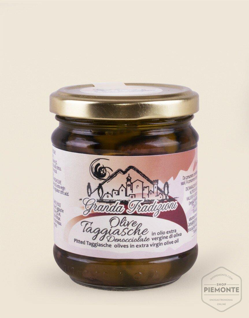 Olive Taggiasche Denocciolate in olio EVO 180g