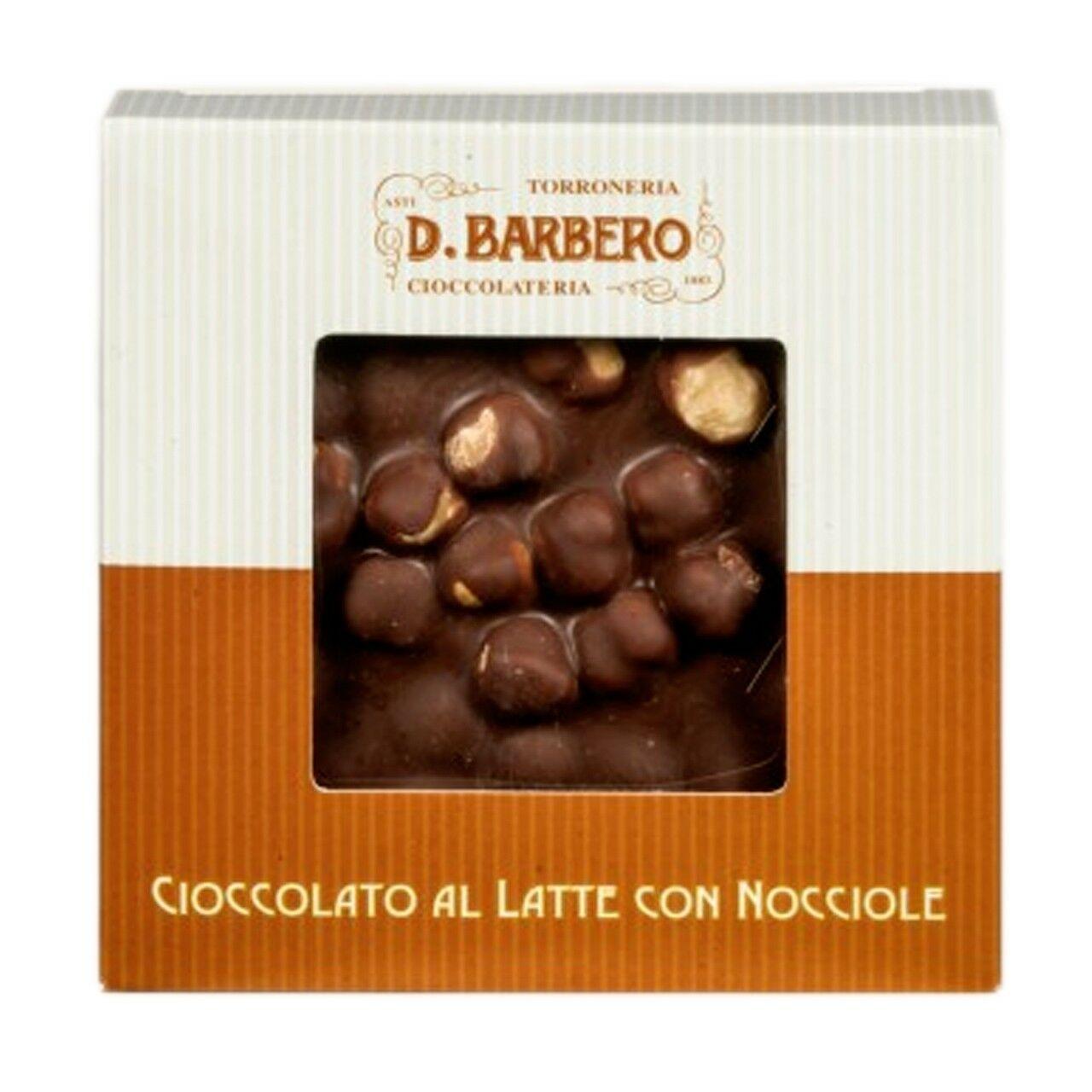 Milk chocolate with hazelnuts 120g