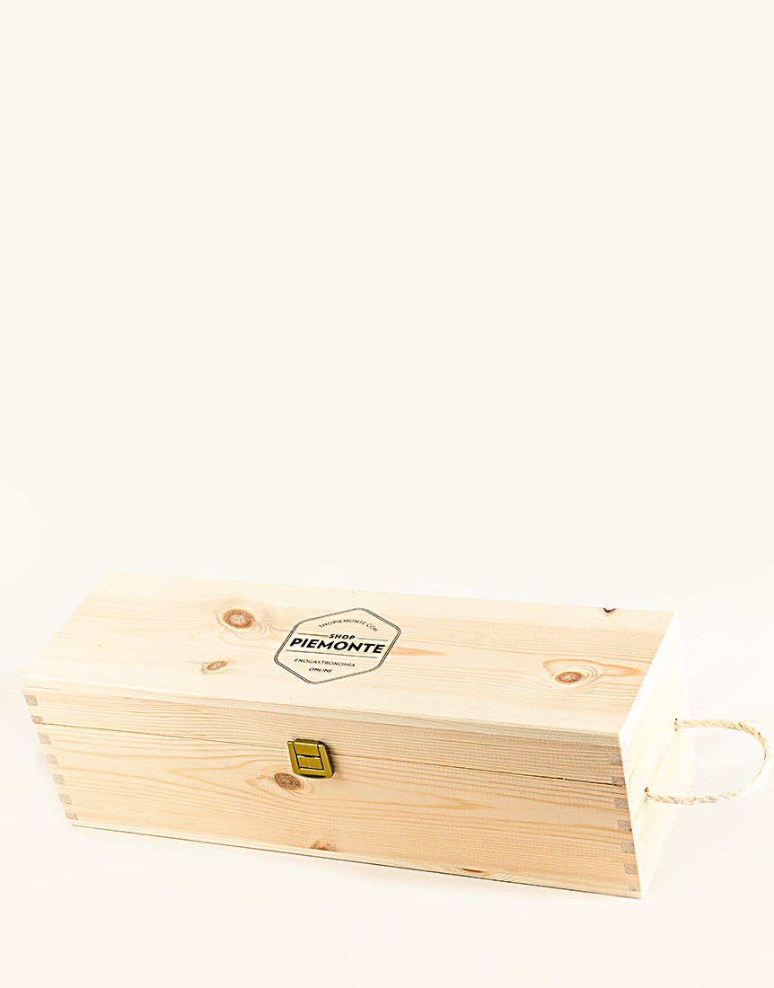 Cassetta in Legno Shopiemonte per bottiglia magnum