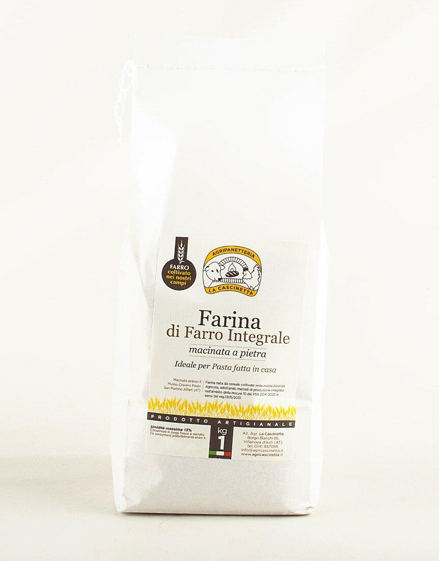 Wholemeal Emmer Flour - 1 kg