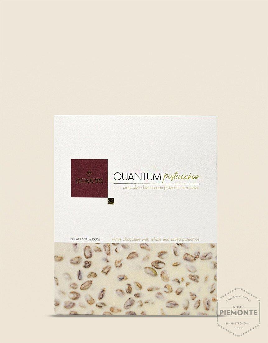 Quantum Domori Cioccolato Bianco e Pistacchio 500gr