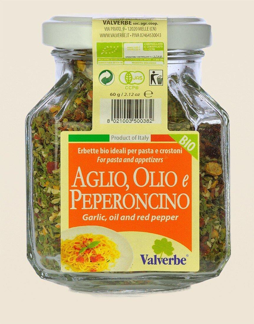 Seasoning Garlic and Oil