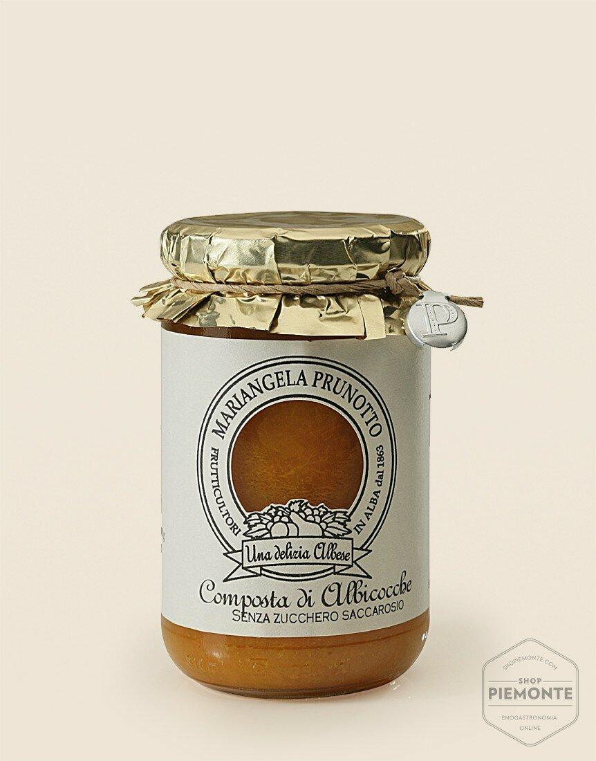 Composta senza zucchero Albicocche 345g