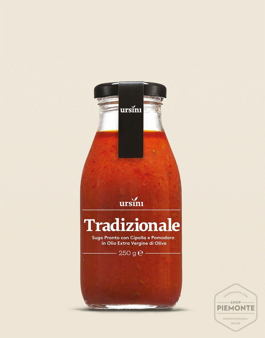 Sugo tradizionale in bottiglia 250 ml