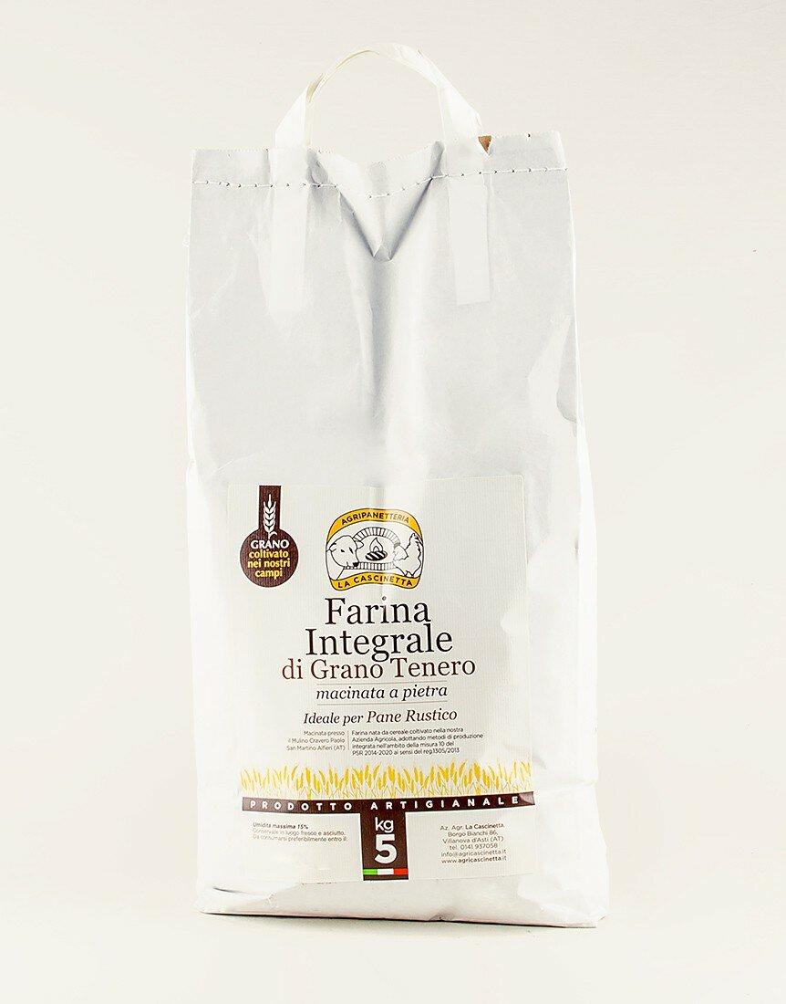 Farina Integrale di Grano Tenero - 5kg