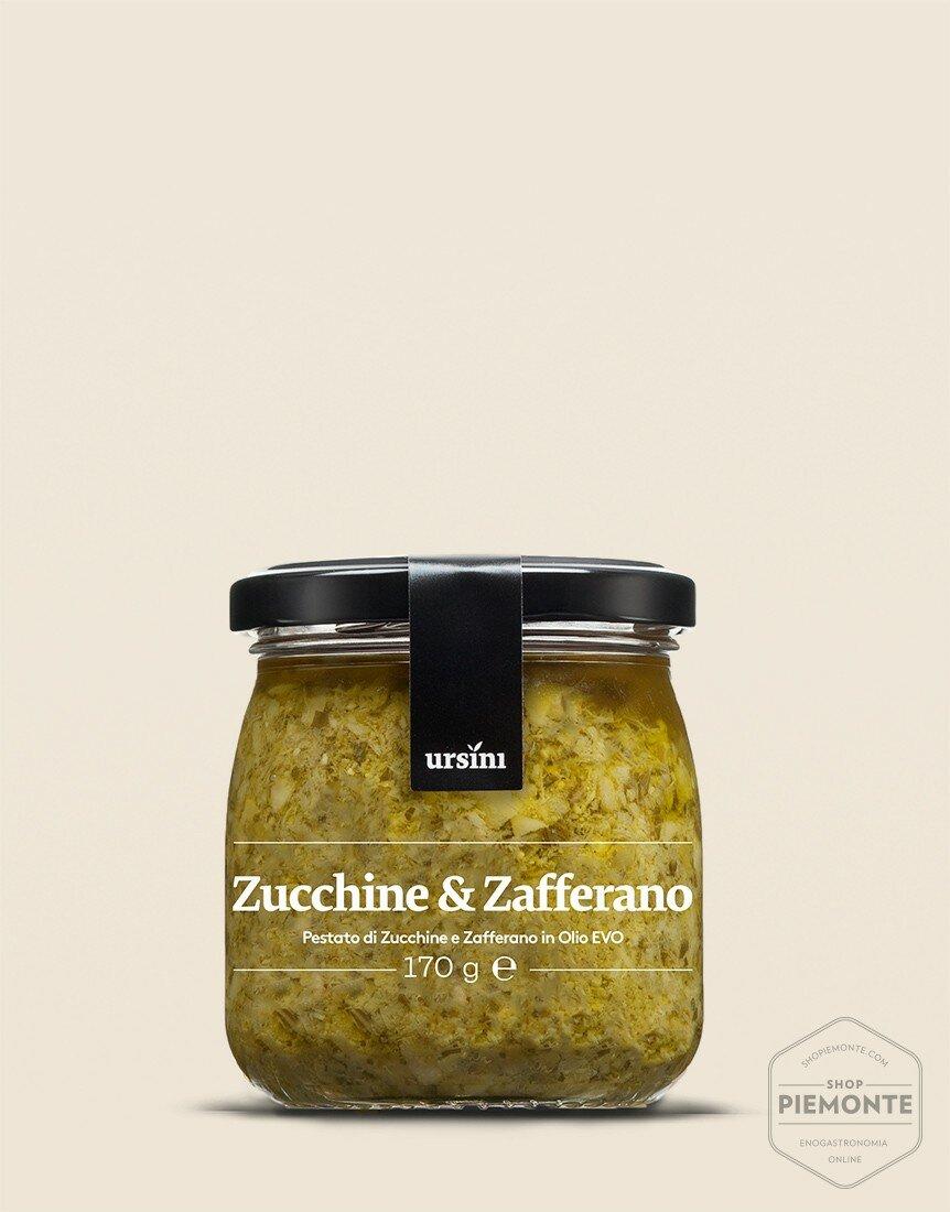 Pestato di Zucchine e zafferano
