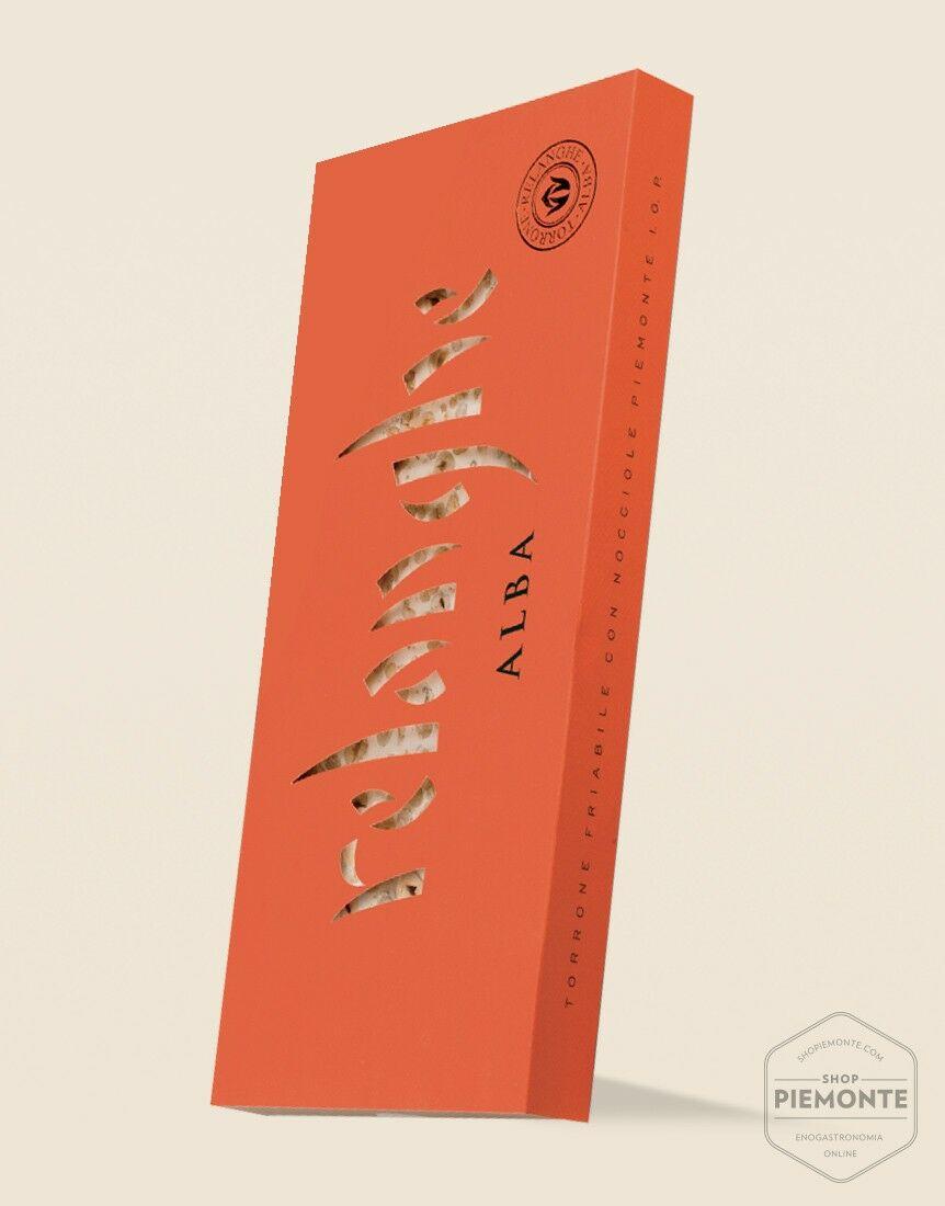 Foglio di Torrone Friabile con Nocciole Piemonte I.G.P.  650 g