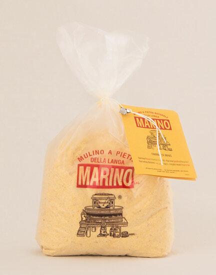 Farina integrale di mais Bio per polenta fine - 1kg