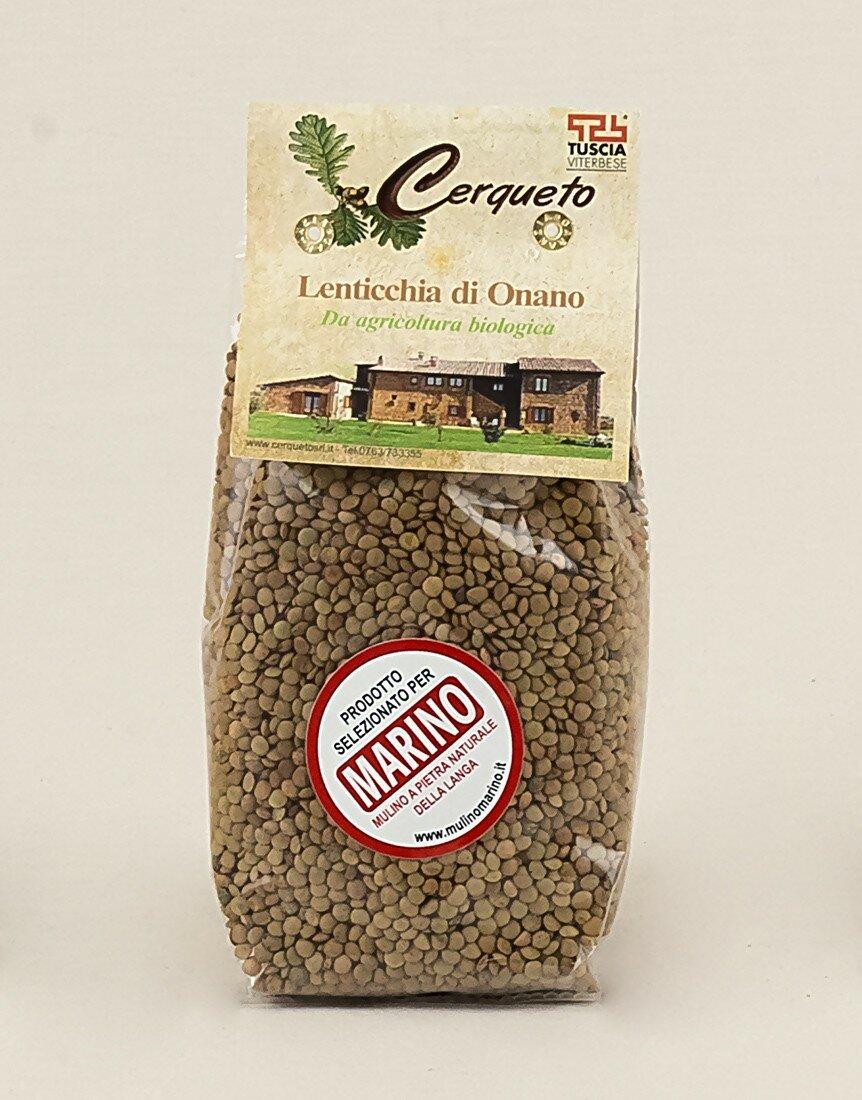 "Lentils of Onano ""Bio"" - 500g"