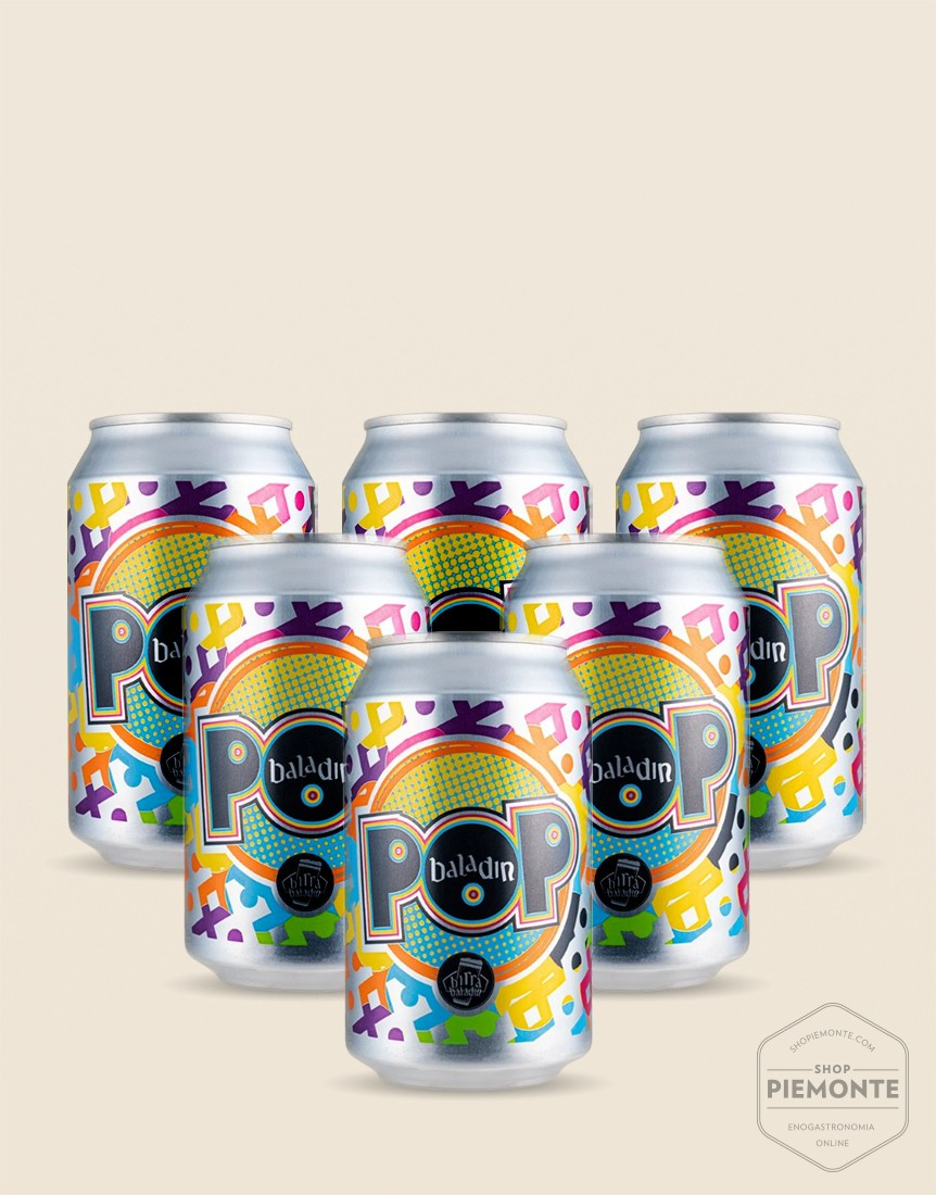 Promozione Birra Pop Baladin 6 lattine