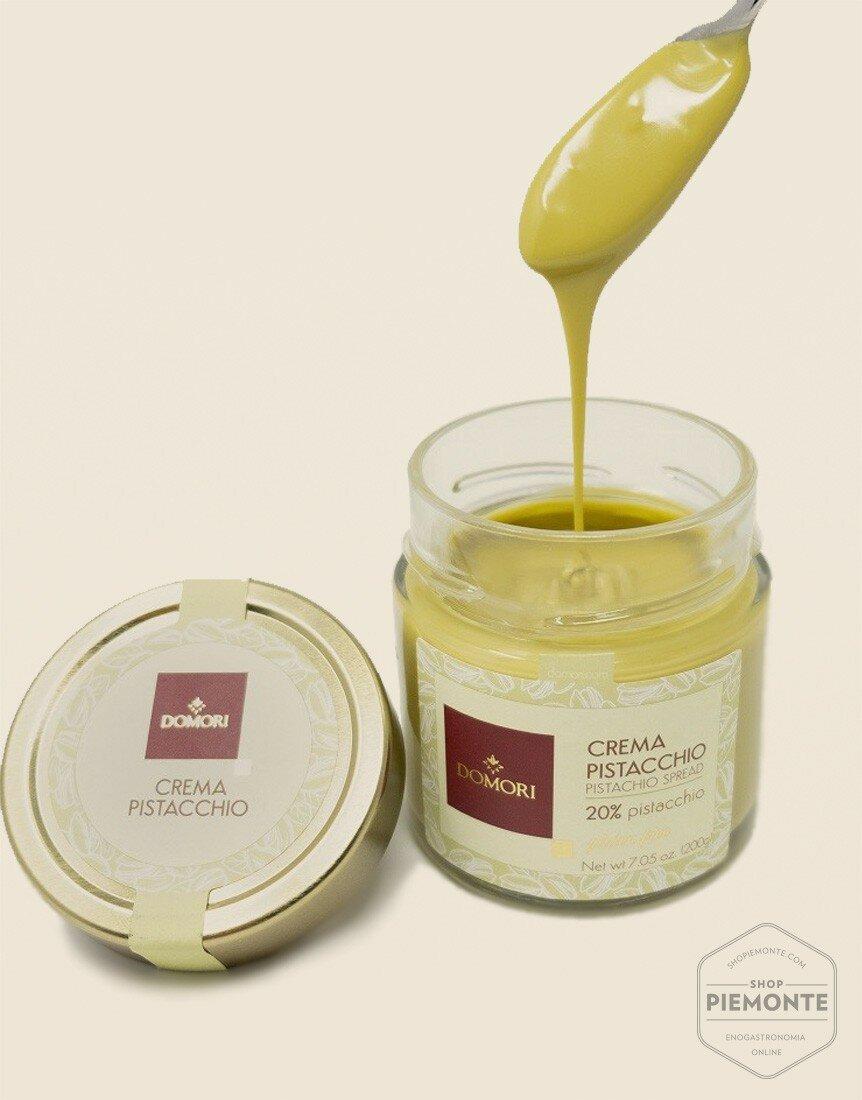 Domori Pistachio Spreadable Cream 200gr