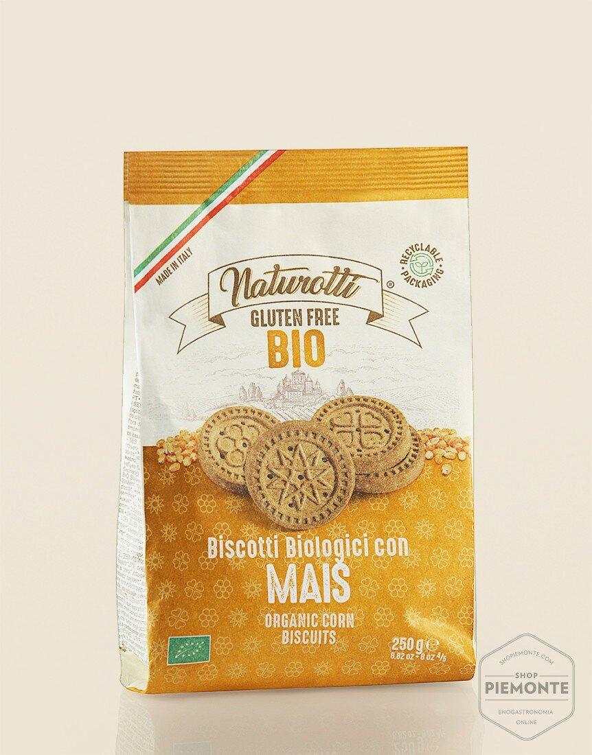 Biscotti al Mais Bio & Gluten Free